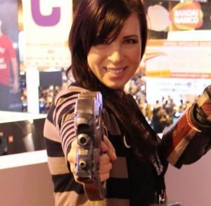 Jessica Merizan, lors du PGW 2012