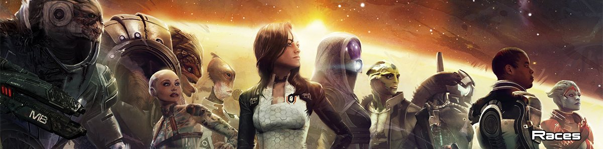 Races Mass Effect
