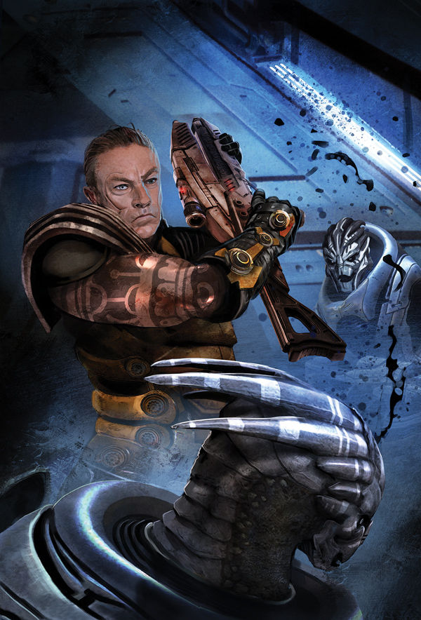 Couverture de Mass Effect Foundation 11