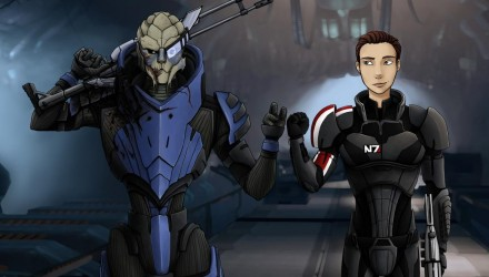 2 ans Mass Effect Universe