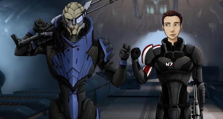 2 ans Mass Effect Universe