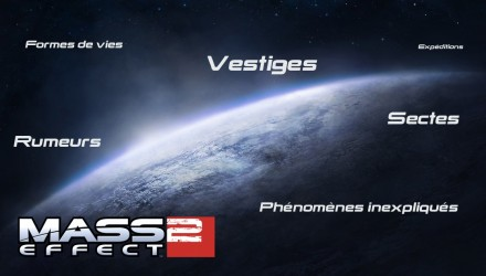 Planètes de Mass Effect 2