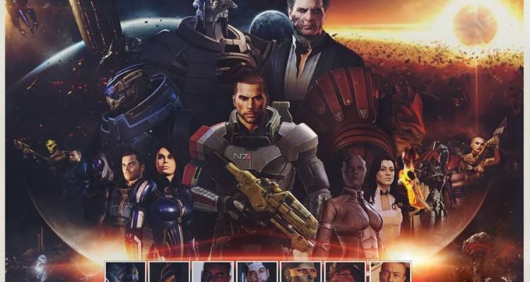 Portage HD de la trilogie Mass Effect