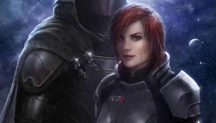 Fan art Mass Effect Andromede