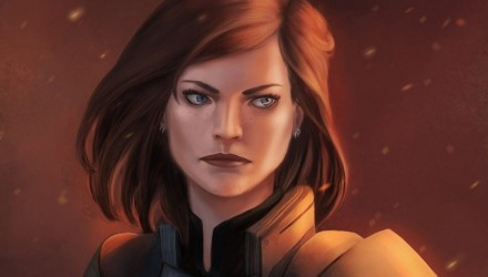 Fan art de Shepard, Mass Effect