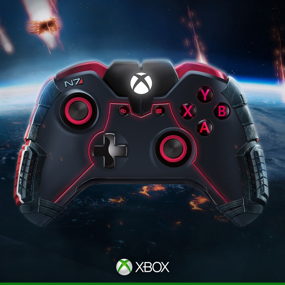 Manette Xbox One Mass Effect/N7