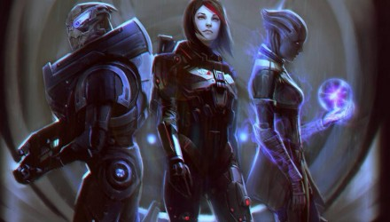 Fan art Mass Effect par Shalizeh