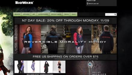 N7 Day sur le Bioware Store