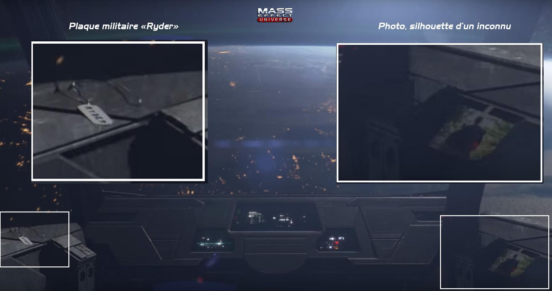 Ryder, Trailer de Mass Effect Andromeda