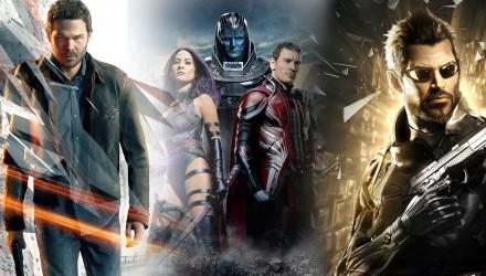 Films et jeux vidéo de science fiction 2016
