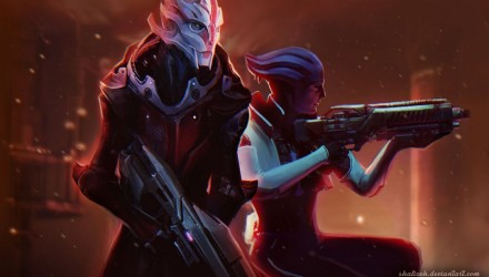 Mass Effect fan arts