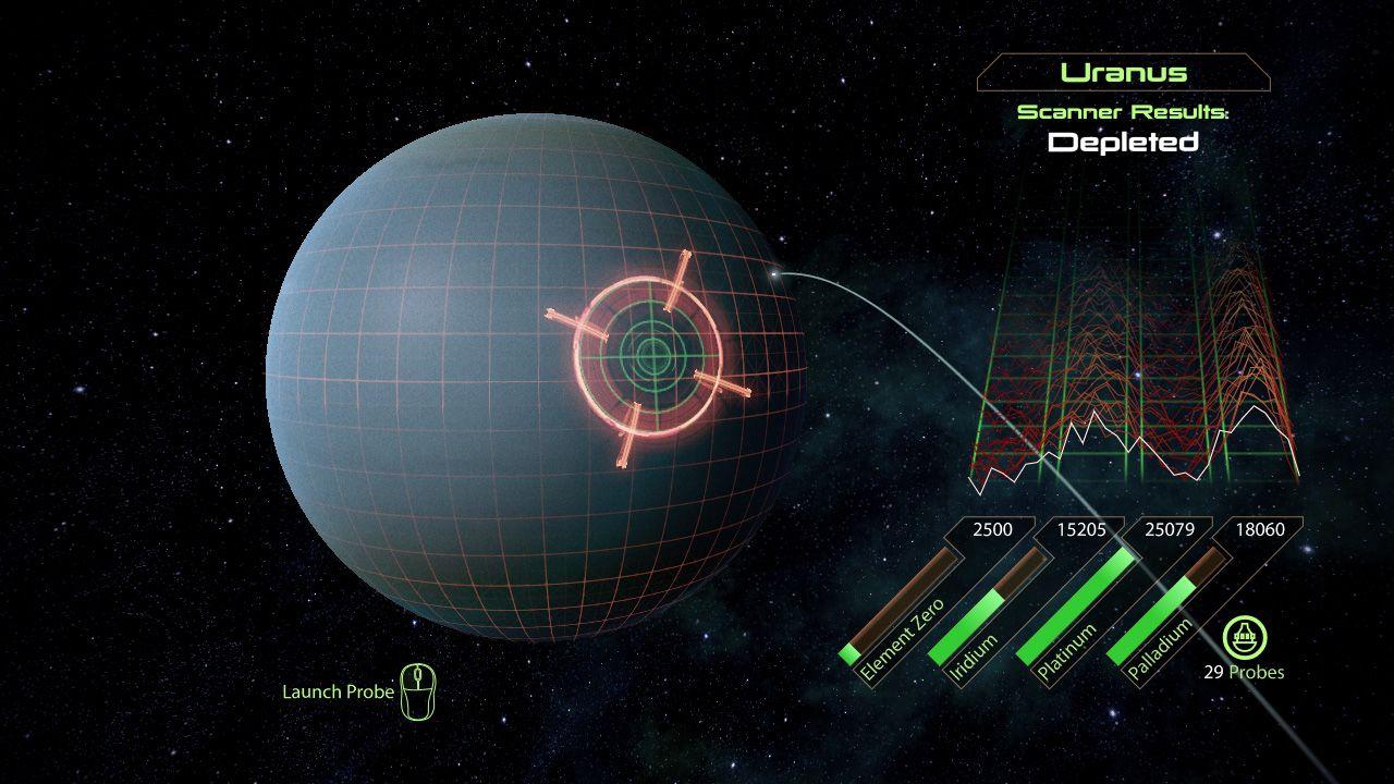 Mass Effect scan planet