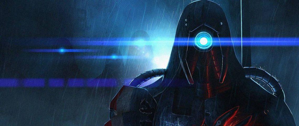 Fan art Mass Effect par elyngontier