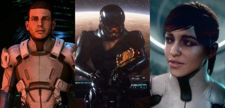Masss Effect Andromeda : la famille Ryder