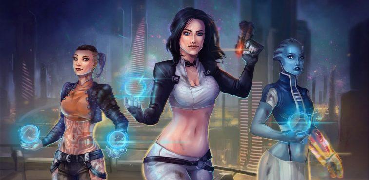 Fan arts Mass Effect