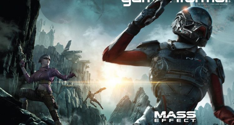 Mass Effect Andromeda cover game informer