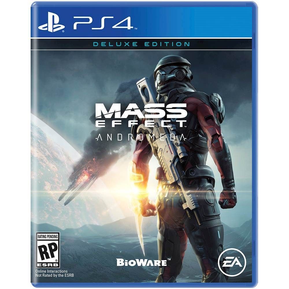 Mass Effect Andromeda Cover 2017 ps4