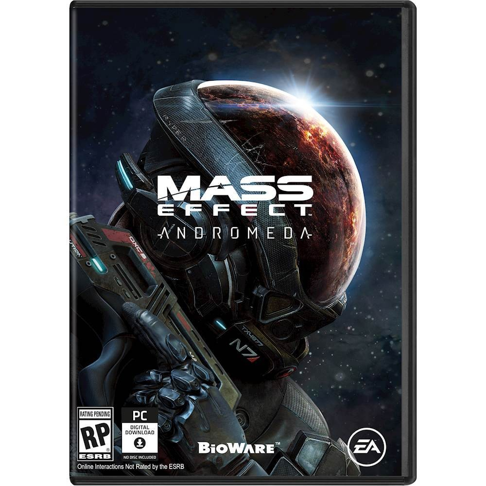 Mass Effect Andromeda Cover 2017 pc