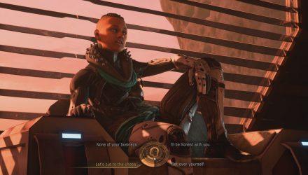 Sloane Kelly dans Mass Effect Andromeda