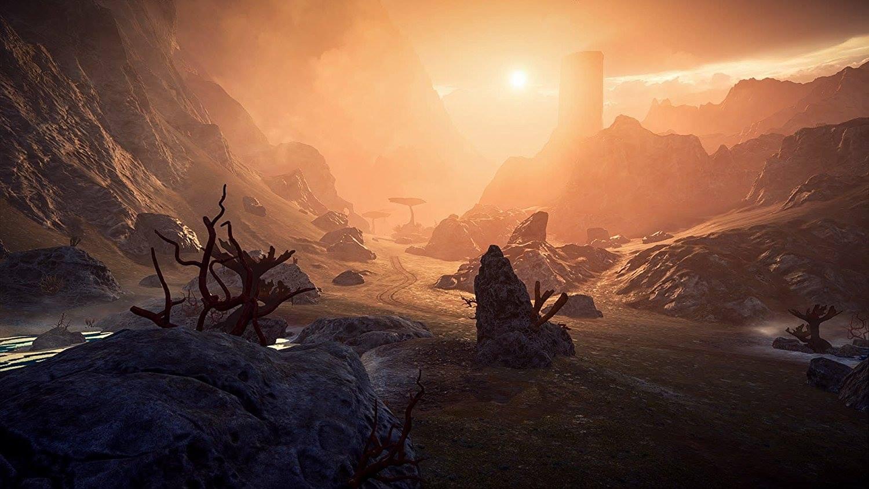 L'un des nombreux mondes à explorer dans Andromède.