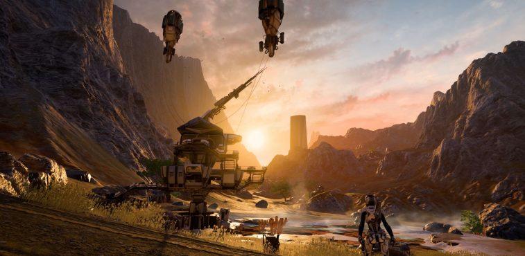 Kadara, planète de Mass Effect Andromeda