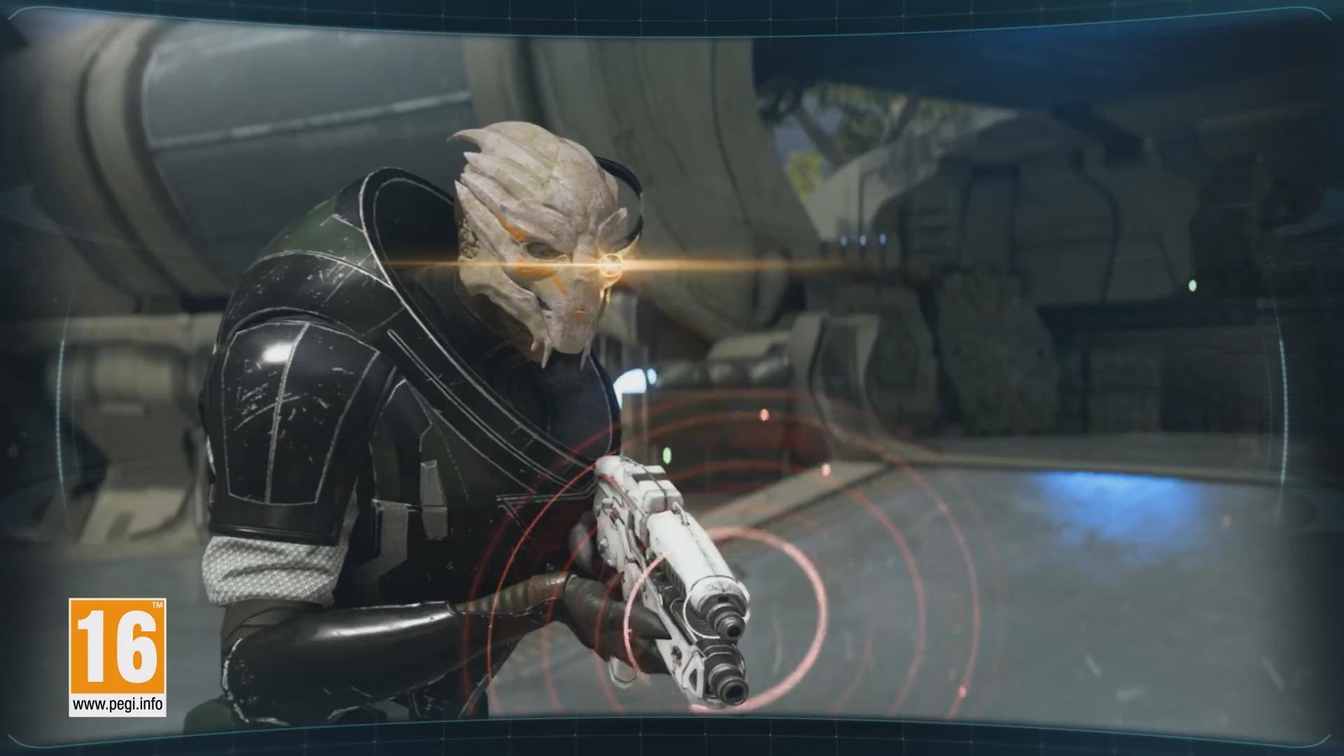 L'agent Turien équipé du X5 Ghost