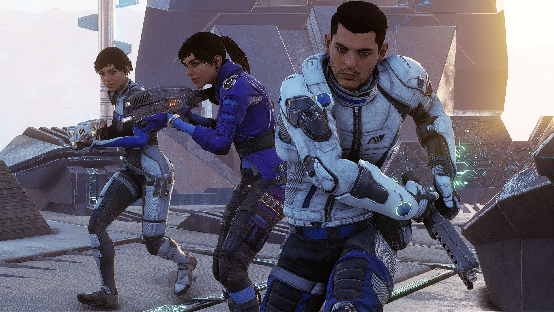 Gameplay Mass Effect Andromeda : la création de personnage